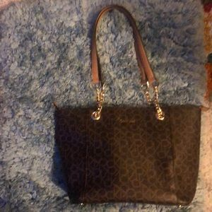 New with tags Calvin Klein larger purse